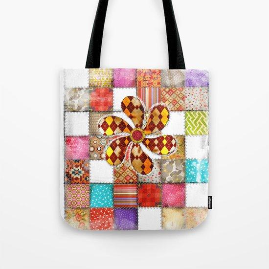 Lady Patchwork (Bulgarian Love) Tote Bag