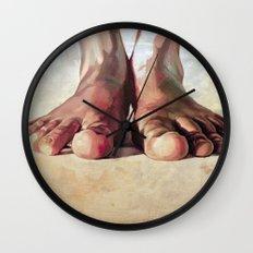 Pensando con los pies Wall Clock