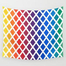 Rainbow geometric pattern Wall Tapestry