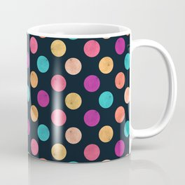 Watercolor Dots Pattern VI Coffee Mug
