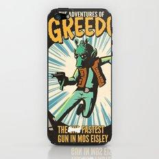Greedo Vintage Comic Cover iPhone & iPod Skin