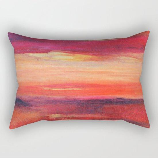 The Golden Lining Rectangular Pillow