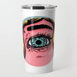 The blonde spies Travel Mug