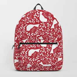 Birdie Bundle in Red Backpack