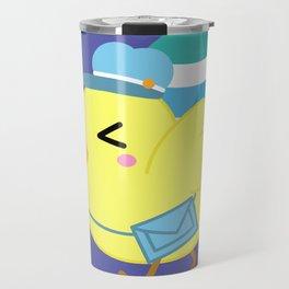 Courier Chicken Travel Mug