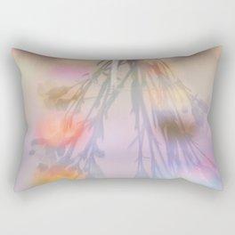 Rainbow Carnations Rectangular Pillow