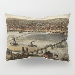 Map Of Louisville 1876 Pillow Sham
