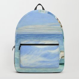 Edward Hopper Ground Swell 1939 Painting Backpack