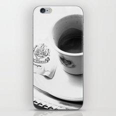 Coffee in Venice iPhone & iPod Skin