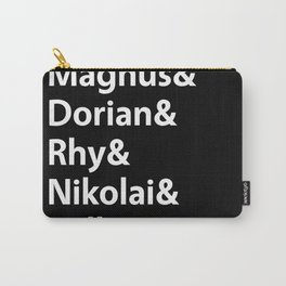 Book Princes Black Carry-All Pouch
