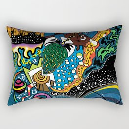 Spaced Out Rectangular Pillow