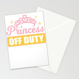 Princess Out of Service Pension Girlfriend Gift Stationery Cards