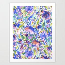 Maximal Floral Wild & Free Art Print