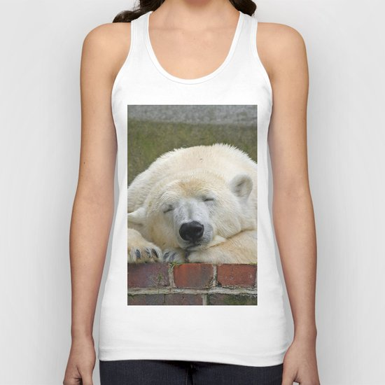 Polar Bear 003 Unisex Tank Top