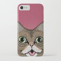 lil bub iPhone & iPod Cases featuring 'Lil Bub by Sydney Emery