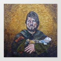lannister Canvas Prints featuring Jaime Lannister - Awards From Army Hero Squad by HevArtScenic
