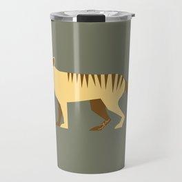 EXTINCT: Thylacine (Tasmanian Tiger) Travel Mug