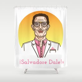 Salvadore Dale Shower Curtain