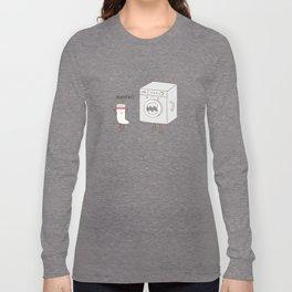 sock eating monster Long Sleeve T-shirt