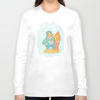 yeti Long Sleeve T-shirts featuring YETI by Галина Дук