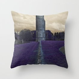 Eglinton Ruins Kilwinning Scotland  Throw Pillow