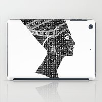 queen iPad Cases featuring Queen by Panda Cool
