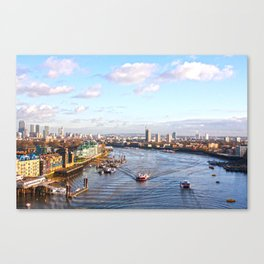 The Thames Canvas Print
