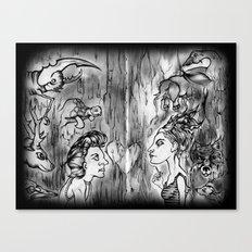 Power Animals Canvas Print