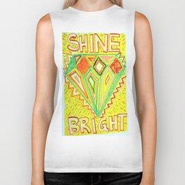 Shine Bright  Biker Tank