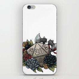 Barbarian Class D20 - Tabletop Gaming Dice iPhone Skin