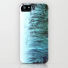 Reflective Tranquility iPhone Case