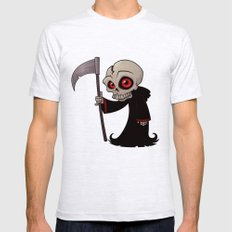Little Reaper MEDIUM Ash Grey Mens Fitted Tee