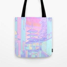 Kyoto Bubblegum Tote Bag
