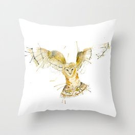 My Barn Owl Throw Pillow