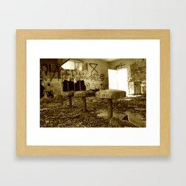 Salton Sea Bar Framed Art Print