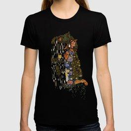 Kiss Klimt Cats T-shirt