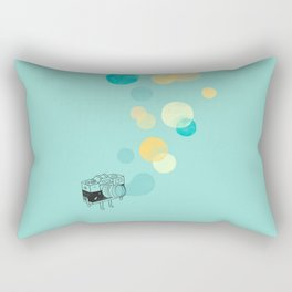 Memories like bubbles Rectangular Pillow