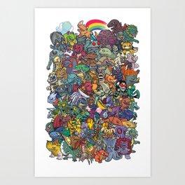 Kaiju Crew Kunstdrucke