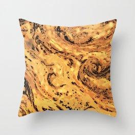 No. 9, Crust Throw Pillow