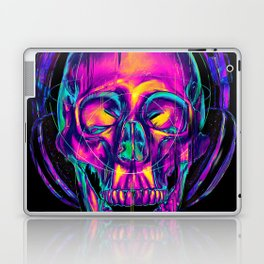 Trippy Skull Laptop & iPad Skin