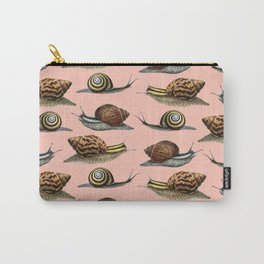 Snails x Infinity (natural) Carry-All Pouch
