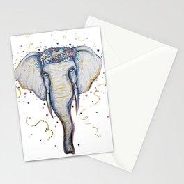 l'éléphant Stationery Cards