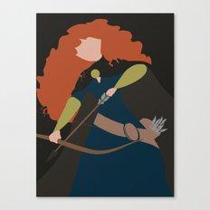 Merida - Brave - Minimalist Canvas Print