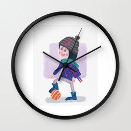 Birthday Girl 3 Wall Clock