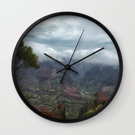Waimea Canyon Wall Clock