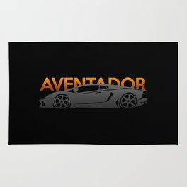 Lamborghini Aventador Rug