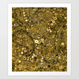 :: Good as Gold :: Art Print