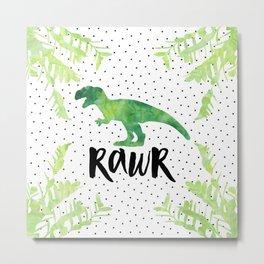 Rawr Metal Print