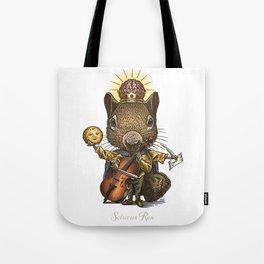 King of Squirrels Tote Bag