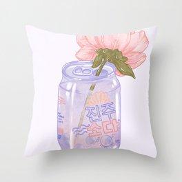 Pearl Soda Throw Pillow